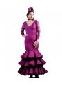 Moda Spagnolo di Flamenco Silvia
