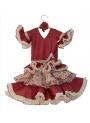 Vestiti Di Flamenco Bambina, Taglia 1