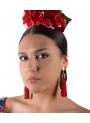 Orecchini Di Flamenco di frange