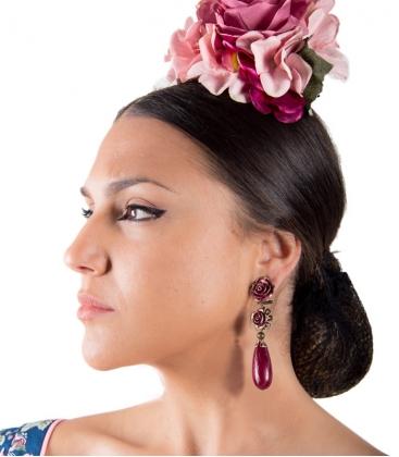 Orecchini Di Flamenca a Forma Di Ghianda