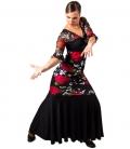 Gonna Flamenca Stampata