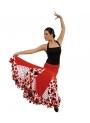 Gonna Flamenca per Bambina Mod EF075