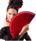 Ventaglio Flamenco A Pois