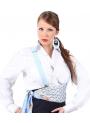 Bretelle Di Flamenco elastici con clip