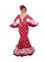 Vestiti di Flamenca, Taglia 34 (XS) Hinojo