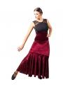Gonne di ballo flamenco di velluto