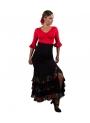 Gonna di Flamenco Vita alta