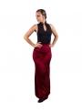Gonne Di Ballo Flamenco Di Velluto Vita Alta