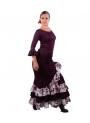 Completi Da Ballo Flamenco Mod Estrella Melanzana