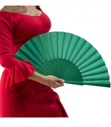 Ventaglio Flamenco Grande Di Legno