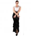 Gonna di Ballo Flamenco - Taconeo Con Pizzo
