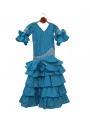 Vestiti spagnolo di Flamenco Bambina, Taglia 5