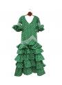 Vestito spagnolo di Flamenca Bambina, Taglia 8