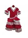 Vestito di Sevillanas Bambina, Taglia 4