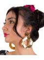 Orecchini Di Flamenca a Cerchio Grande
