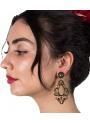 Orecchini Di Flamenca Filigrana