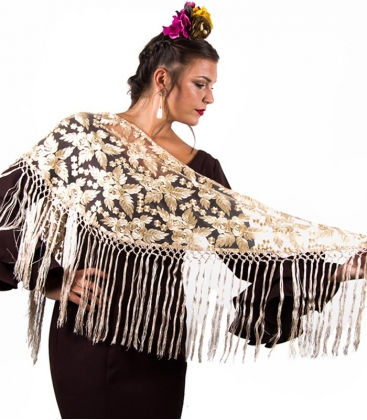 Piccolo Sciarpe Di Flamenco Ricamo
