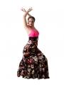 Gonne Di Flamenco - Modello Carmen Motivo Floreale