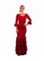 Completi Da Ballo Flamenco Mod. Sol Rosso