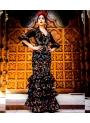 Vestito Spagnolo Di Flamenco
