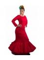 Vestito Di Flamenco Rosso, Taglia 40 (M)