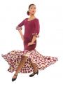 Gonna Flamenca per Bambina Mod.EF036