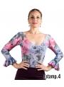 Top Flamenco Stampata