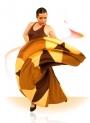 Vestiti Per Ballo Flamenco - Mod E44541