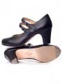 Scarpe Di Flamenco Doppia Fibbia