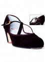 Scarpe Di Ballo Flamenco Pelle scamosciata