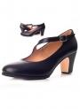 Scarpe di Flamenca Pelle con striscioline