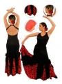 Gonne da Ballo Flamenco per Bambina Mod EF077