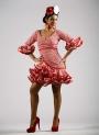 Vestiti Spagnolo Di flamenca 2015 Carmin