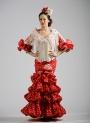 Costumi Spagnolo Di Flamenca 2015 Compas