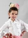 "Camicie di Flamenco ""Tamara"" Bambina"