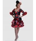 Vestito Spagnolo Di Flamenco 2015 Caña