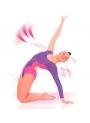 Body per ginnastica artistica Bambina Mod Fiori