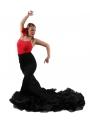 Gonne flamenca Di Coda, Vita Alta