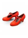 Scarpe di Flamenco, Sandalia Profesional (Pelle/Scamosciata)
