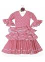 Vestito Di Flamenco Bambina, Taglia 1