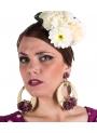 Orecchini Flamenco con Fiori