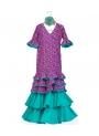 Vestito Di Flamenca Bambina, Taglia 6