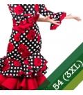 Vestiti Flamenco Taglia 54 (3XL)