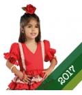 Vestiti di Flamenca 2017 Bambina