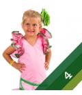 Vestito di Flamenca Bambina - Taglia 4