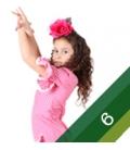 Vestito di Flamenco Bambina - Taglia 6