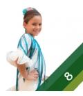 Costumi di Flamenca Bambina - Taglia 8