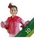 Costumi di Flamenco Bambina - Taglia 10