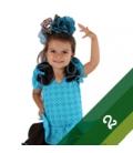 Vestiti di Flamenco Bambina - Taglia 2