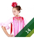 Moda Flamenco Bambina - Taglia 14